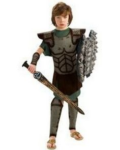 Kid's Perseus outfit based on the one from Clash of the Titans