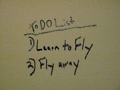 I'll fly away.