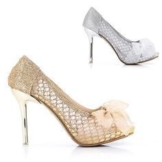 gold shoes for wedding | high heels Wedding shoes [LACE3] - $45.00 : Fashionable Women Shoes ...