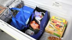 Organize a Chest Freezer with Reusable Bags