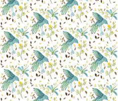 This is my friend Holly's fabric. Please  vote for her design on Spoonflower!  Thanks