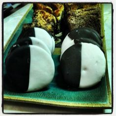 Photo by bwcookieman Black And White Cookies, Pudding, Breakfast, Instagram Posts, Desserts, Food, Morning Coffee, Tailgate Desserts, Deserts
