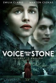 There's a first official poster for Voice from the Stone, the upcoming drama mystery thriller movie directed by Eric D. Howell and starring Emilia Clarke, take a look below: Films Netflix, Films Hd, Hd Movies, Film Movie, Movies Online, Movies Free, Action Movies, Period Drama Movies, Bon Film
