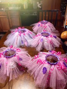 my baby shower tutu centerpieces, thanks for making them mom :-)!!