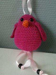 Crochet bird III