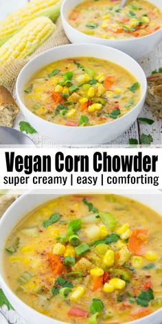 Vegan Lunch Recipes, Vegan Soups, Delicious Vegan Recipes, Vegan Dishes, Healthy Recipes, Easy Vegan Soup, Vegan Recipes With Potatoes, Vegetarian Recipes For Dinner, Summer Soup Recipes