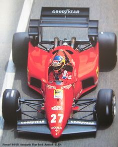 Ferrari Scuderia, Ferrari F1, Indy Cars, Rc Cars, Michele Alboreto, Monaco, Race Engines, F1 Drivers, F1 Racing