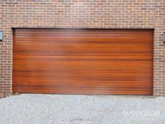 Timber Sectional Door 84mm Western Red Cedar