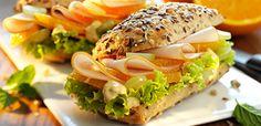 Rezept California-Sandwich mit Pute und Orange