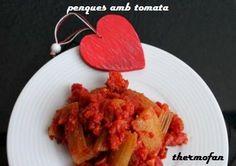 Pencas con tomate de Thermofan