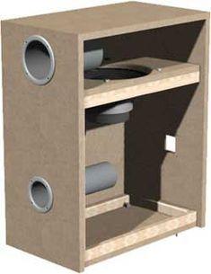 subwoofer box design for 12 inch Diy Subwoofer, 12 Inch Subwoofer, Subwoofer Box Design, Speaker Box Design, Wooden Speakers, Diy Speakers, Speaker Plans, Speaker Amplifier, Car Sounds