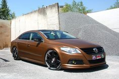 Volkswagen Passat CC on Bentley Mulliner wheels. Gloss black door mirrors and grille. Vw Cc, Vw Passat, Volkswagen, Sports Sedan, Modified Cars, All Cars, Sport Cars, Luxury Cars