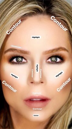 Learning how to contour can be intimidating but with these 5 easy steps you will. - Learning how to contour can be intimidating but with these 5 easy steps you will learn how to conto - How To Blend Contouring, Easy Contouring, How To Contour Your Face, Contouring For Beginners, Step By Step Contouring, Makeup Tutorial Step By Step, Makeup Tutorial For Beginners, Contouring And Highlighting, How To Apply Makeup