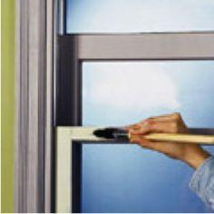 How To Paint Metal Window Frames Home Renovation Diy Pinterest
