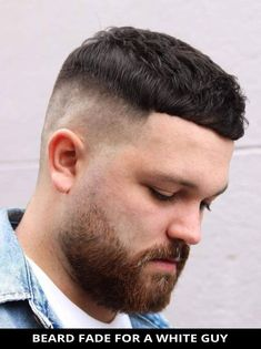 Ask your hairdresser for this beautiful beard fade for a white guy as it just might be the perfect fit for you! You've gotta check out the rest of these 22 most requested beard fade haircuts (this year's most popular). // Photo Credit: @joey_shakes on Instagram Latest Hairstyles, Hairstyles Haircuts, Beard Fade, Rugged Look, Beard Styles For Men, Fade Haircut, Most Popular, Hairdresser, Photo Credit