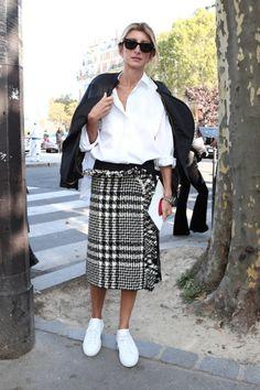 マキシ丈にミモレ丈、スカートはロング丈がIN【パリコレスナップDAY6】 | FASHION | ファッション | VOGUE GIRL