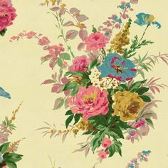 Pulbrook Rose didital wallpaper | CathKidston