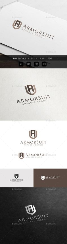 Armor Suit  Fashion Apparel  A logo — Vector EPS #men #suit • Download here → https://graphicriver.net/item/armor-suit-fashion-apparel-a-logo/11358840?ref=pxcr