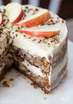 Apple Cake Recipes, Fall Dessert Recipes, Fall Desserts, Just Desserts, Baking Recipes, Delicious Desserts, Cinnamon Recipe, Apple Cinnamon Cake, German Apple Cake