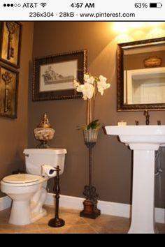 Bathroom Sherman Williams Nuthatch
