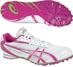Into athletics? Ladies Asics Hyper Rocket long distance running spikes | eBay UK
