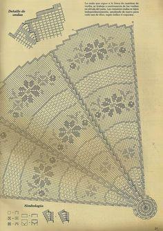 centrotavola rotondo | Hobby lavori femminili - ricamo - uncinetto - maglia