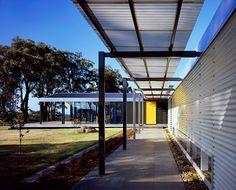 Corrugated Metal Contemporary Exterior by Noxon Giffen