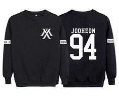 KPOP Monsta X Sweater Jooheon Wonho Shownu Sweatshirt Jacket Pullover L JOOHEON 94