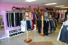 upscale consignment store