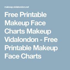 Free Printable Makeup Face Charts Makeup Vidalondon - Free Printable Makeup Face Charts Free Printable Birthday Cards, Free Printables, Printable Cards, Best Makeup Brushes, Best Makeup Products, Best Makeup Powder, Makeup Clipart, Best Foundation Makeup, Asian Bridal Makeup