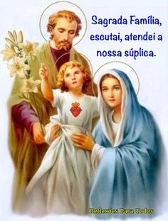 ORAÇÃO À SAGRADA FAMÍLIA (Papa Francisco) (Acesse: completa)