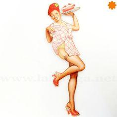 Estampa chica sexy pastel - Regalos cool & vintage