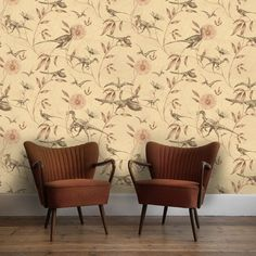 Dinosaur+Wallpaper+in+various+designs++designed+by+mikirosedesign,+£35.00