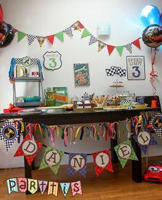 PARTTIS: Una original fiesta de Cars :: An Original Cars' Party