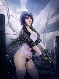 Art & Coplay | Major Kusanagi - Ghost in the Shell