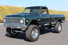 1972 Chevrolet C20 Pickup Fleetside LWB