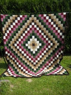 Love the idea of crocheting quilts