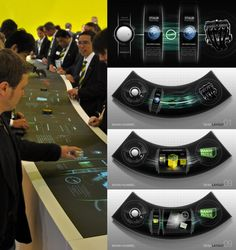 Multitouch Design Interface I by stereolize-design on DeviantArt