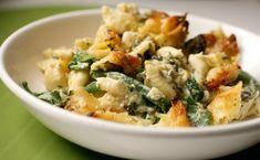 zuccini and spinach mac n cheese