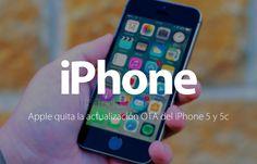 iPhone 5 y iPhone 5c sin actualización a iOS 10.3 vía OTA http://blgs.co/Uy4M5r