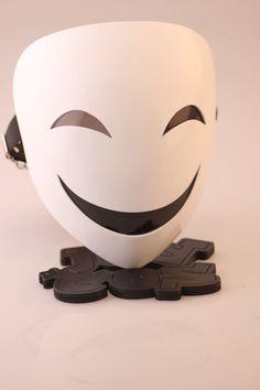 Anime Black Bullet Kagetane Hiruko Cosplay Prop ABS Halloween Mask Japanese Cos for sale online Creepy Masks, Cool Masks, Cosplay Outfits, Anime Outfits, Mascara Anime, Halloween Masks For Sale, Otaku Anime, Anime Art, Japanese Mask