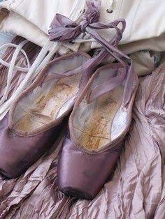 lavender ballet slippers
