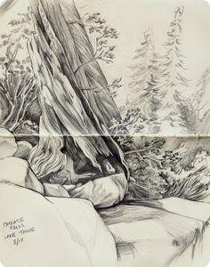 from the moleskine by Allison Reimold, via Behance