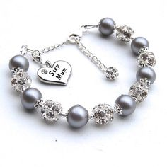 Gorgeous bracelet, ideal wedding present. Could change to bride, mother of the bride, mother of the groom etc...