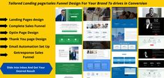 I will design a responsive getresponse landing and clickfunnels sales funnel – FiverrBox Outline Format, Value Proposition, Landing Page Design, Business Goals, Advertising Campaign, You Got This, Promotion, The Outsiders, Ad Campaigns