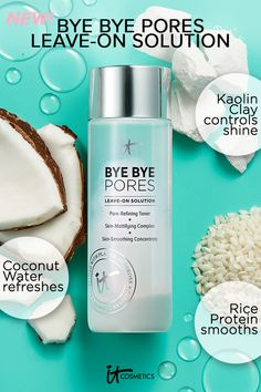 Bye Bye Pores Leave-On Solution . Mattify, minimize the look of pores Toner For Face, Skin Toner, Oily Skin, Anti Aging Moisturizer, Anti Aging Skin Care, Home Spa Treatments, Uneven Skin, Smooth Skin, Minimize Pores