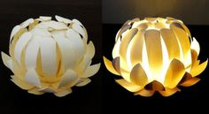 DIY – Paper Cup Flower Lantern