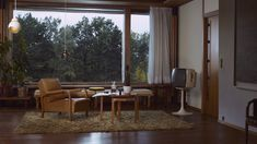 Mid-century modern living room with Continental Edison Tv