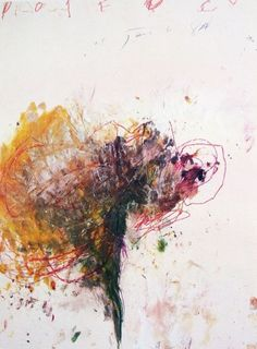 Cy Twombly When of my all time favorites. I dream about this piece. Love all that color and white space