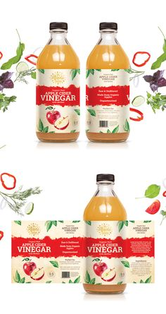 Designs | Apple Cider Vinegar Brand needs Hip Label | Product packaging contest